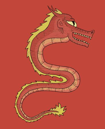 parer: chinese dragon