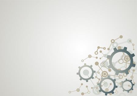 imagine a science: imaginative tech background