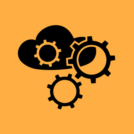 config: tech cloud symbol