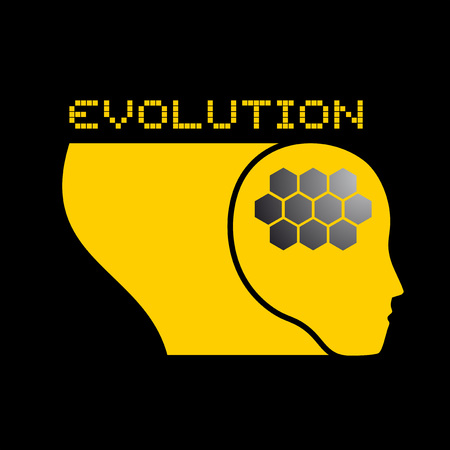 avenir humain icône Vecteurs