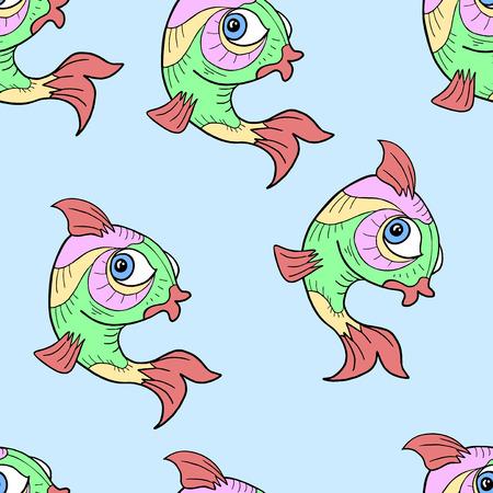 animal: animal seamless design Illustration
