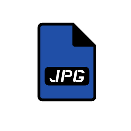 informatics: computer jpg file icon
