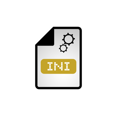 configuration: computer configuration ini file icon