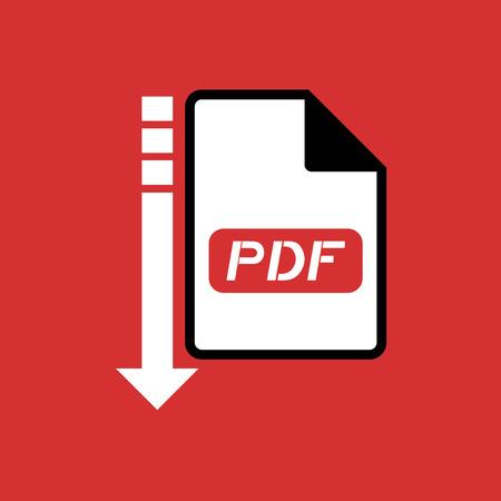 pdf: computer pdf file icon