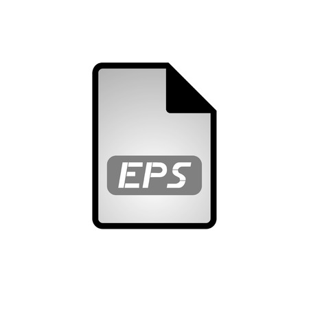 computer eps file icon