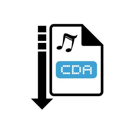 informatics: computer music file icon