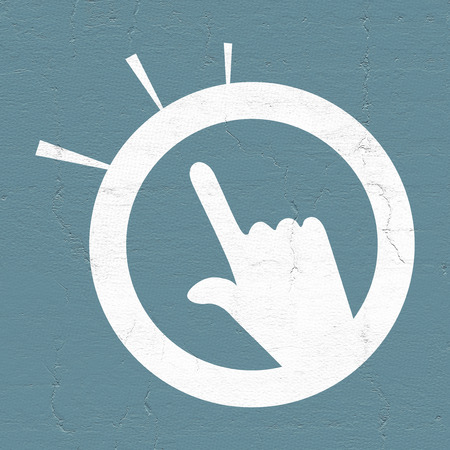 touch: finger touch icon