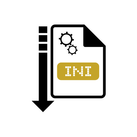 config: computer ini file icon