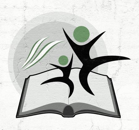 educative: educative book symbol Stock Photo