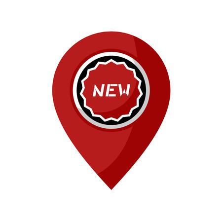 new location symbol