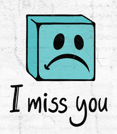 miss you: miss you face