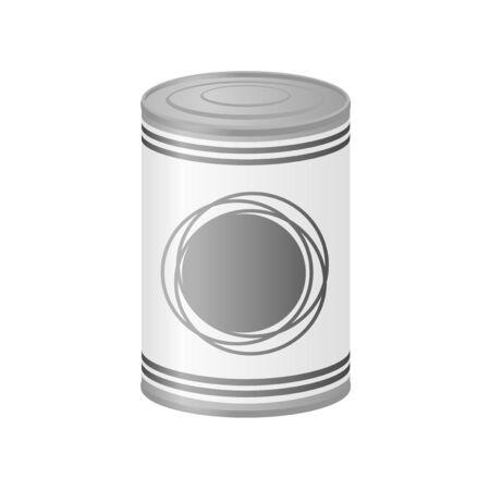metal: metal can
