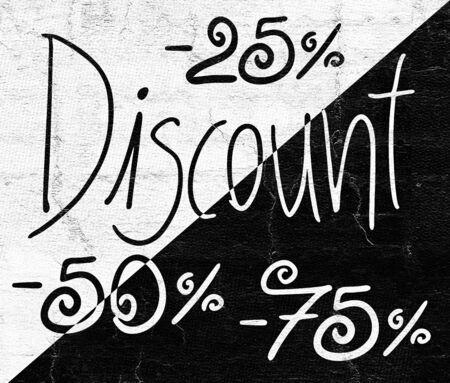 abatement: Discount symbol Stock Photo