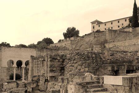 archeology palace ruins Banco de Imagens