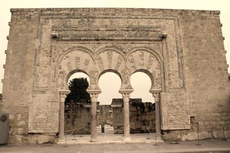 archeology palace ruins Stock Photo