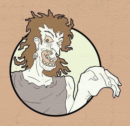 ugly cartoon character
