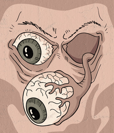 mutant: mutant face