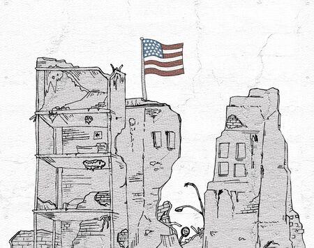 architecture: old american architecture