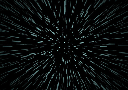 hyperspace: Hyperspace speed travel background