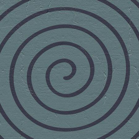 extra sensory perception: spiral background