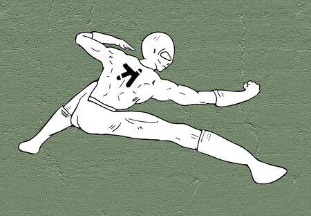fighter illustration