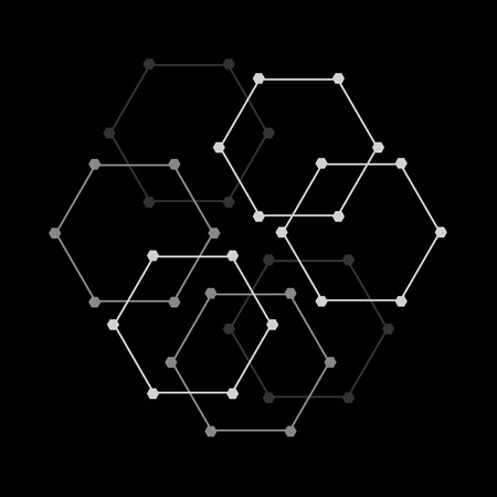Geometric figures pattern