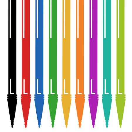 encendedores: Diseño de la pluma del mercado del color