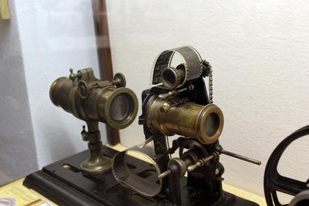 Vintage video cam Stock Photo