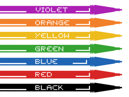 pen and marker: color market pen design
