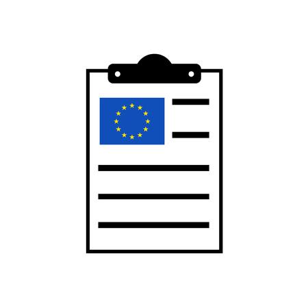 comunity: european clipboard icon