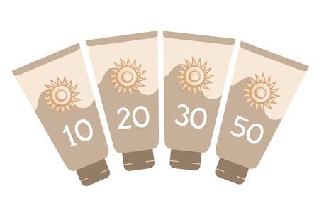 sun lotion: sun protect bottle lotion