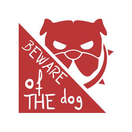 danger dog message