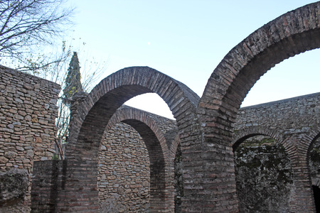 old medieval arcs