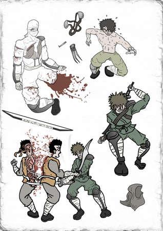 warriors: Warriors illustration