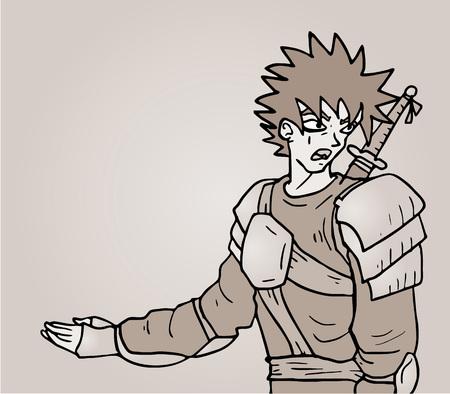 warrior draw
