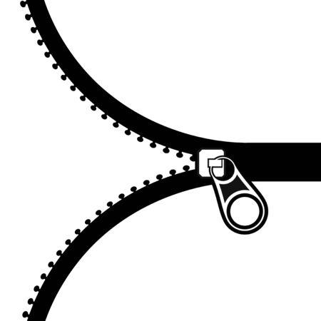 zipper illustration Illustration