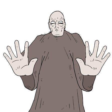 healer: mystery monk