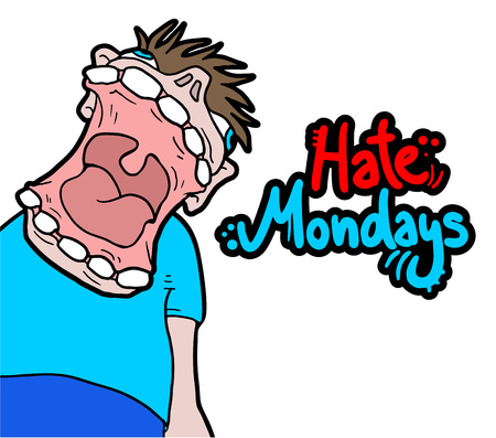 mondays: hate mondays message