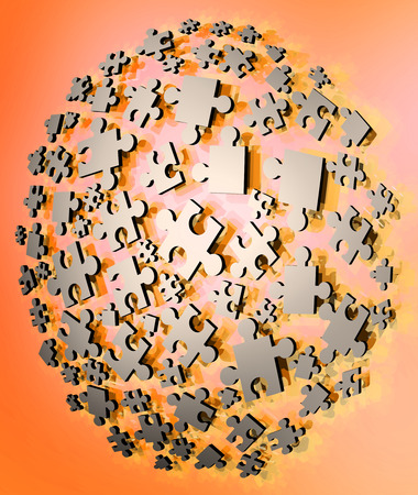 joining: imaginative puzzle pieces