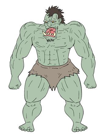 Monster illustration Stock Vector - 81520700