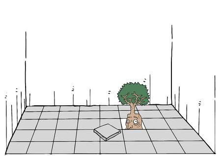 Imaginative tree 向量圖像