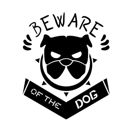 kampfhund: danger dog message