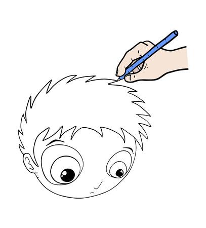hand drawing Imagens - 82121536