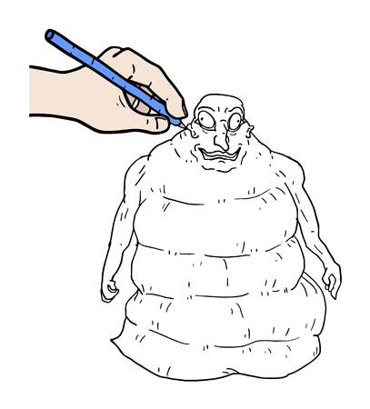 hand drawing Imagens - 82544405