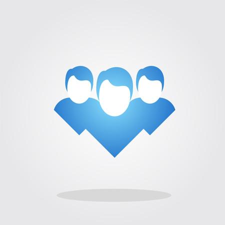 friends icon Illustration