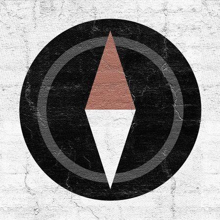 Compass symbol Banco de Imagens
