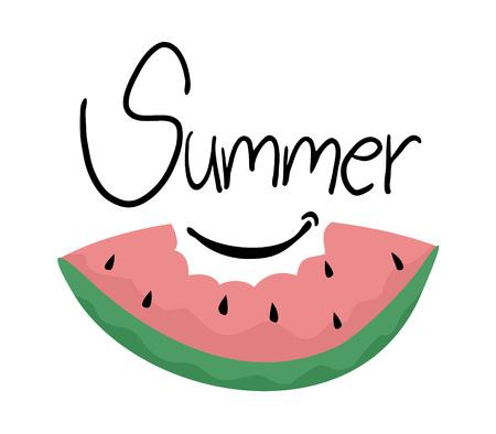 summer solstice: summer fruit design
