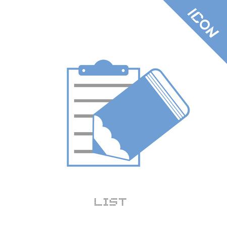 checklist: List icon