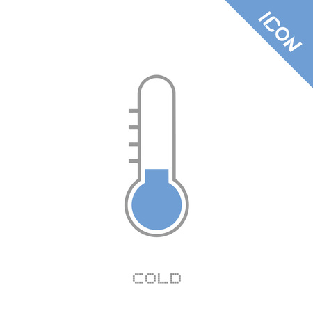 Cold icon Illustration