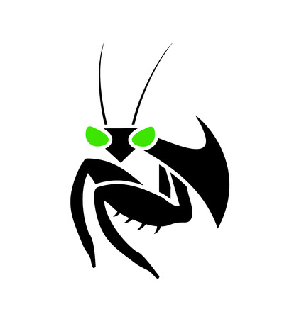 Mantis icon design Фото со стока - 83928005